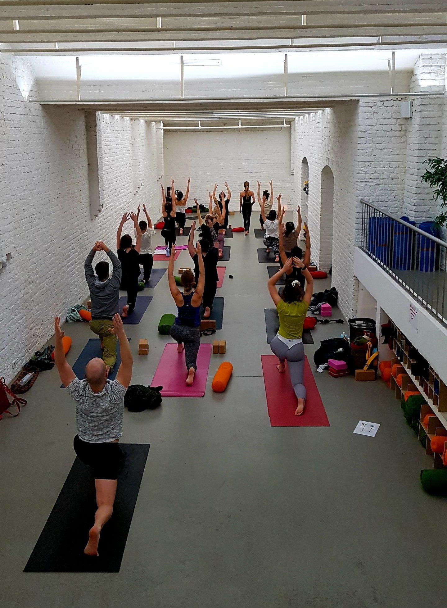 Yoga Belgisches Viertel Leben Bewegt